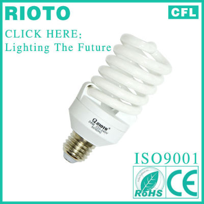 Alibaba China 12MM 8000Hrs 25W Full Spiral Energy Saving Bulb CE/RoHS/ISO