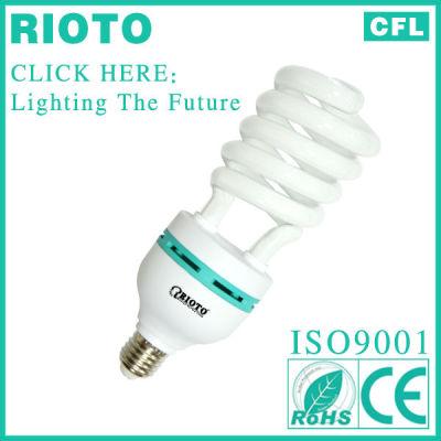 China Linan factory high quality half spiral energy saving lamp