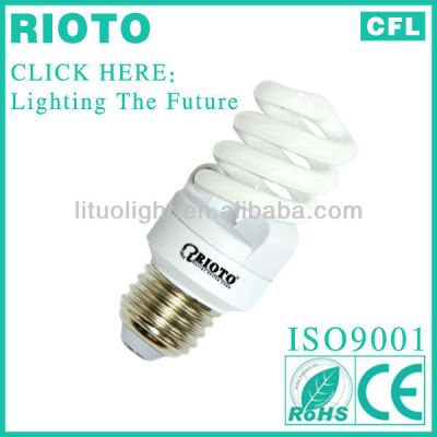 Globe sale triphosphor T2 9W 7MM Zhangjiang Hanghzhou full spiral energy saving bulb