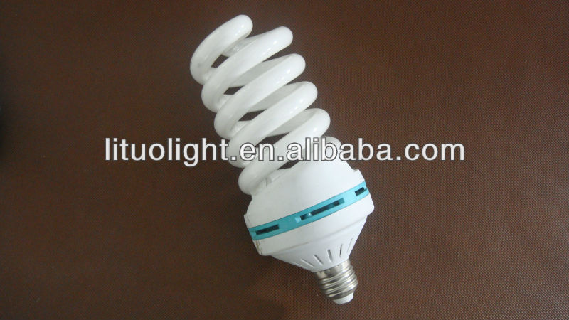 high quality full spiral energy saving lamp CE/ROHS/SASO/BV Certificate ISO9001 Factory