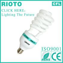 2013 china hot tube E27 base T4 14mm 45W half spiral power saver ESL waterproof light fixture