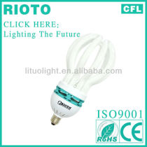 Hangzhou Gold Supplier 2013 Lotus Energy saving fluorescent 105W(ROHS&CE Approved)