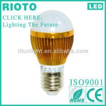 Good Quality Warm white AC85-265V 50Hz-60Hz 230V 220V 110V 120V indoor lighting E27 7W LED Bulb 700lm