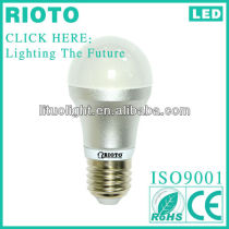 Newest Design 5W E27 LED Globe Bulb made in China