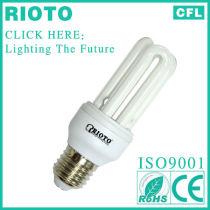3U 9mm 15W tubes Compact Fluorescent Bulbs Hangzhou