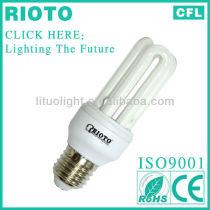 Hangzhou Linan factory 11W 3U Energy Saving Light