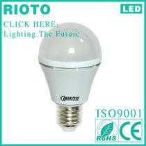 Lathe aluminum perfect 7w led light bulb