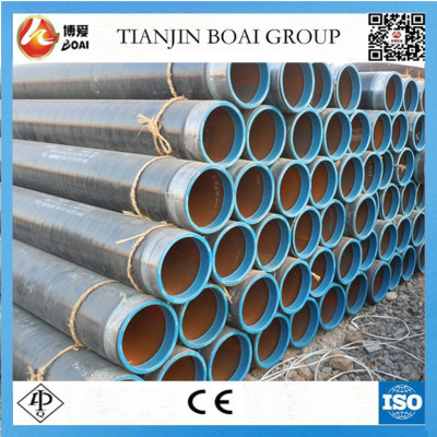 DIN30670 3PE coated steel pipe