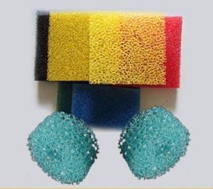 aquarium sponge filter/water purification filter sponge/gutter filter sponge/open cell sponge filter