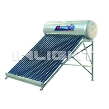 低圧の熱太陽給湯装置
