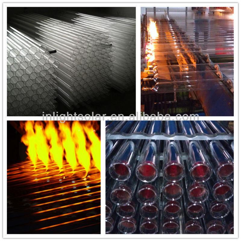 非- 加圧された真空管太陽熱温水器