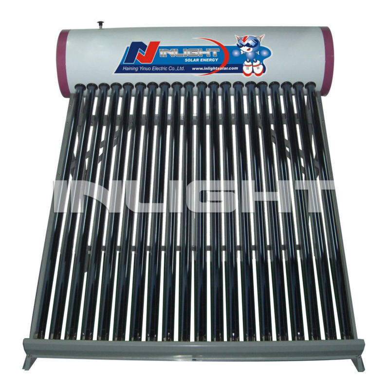 非- 加圧された家庭用太陽熱温水器