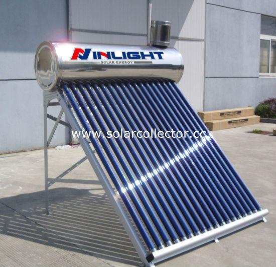 統合されたカラー鋼太陽熱温水器