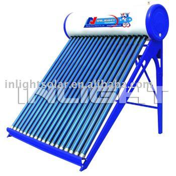 Non-pressurized色鋼鉄太陽水暖房