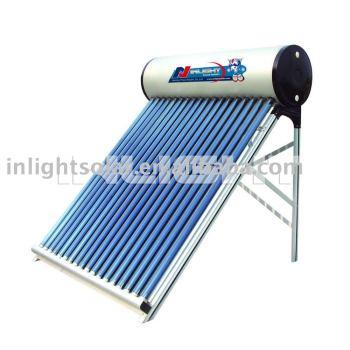カラー鋼太陽熱温水システム