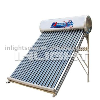 非- 加圧されたバッチパッシブ太陽熱温水器
