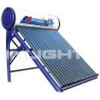 Non-pressurized避難させた管太陽水暖房
