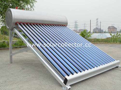 Intelligent Low Pressure Solar Water Heater