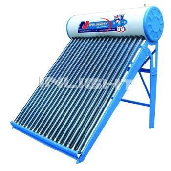 Non-pressurized太陽水暖房装置