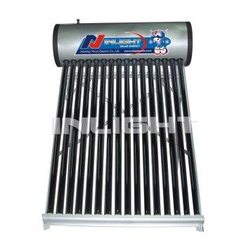 加圧されていない太陽熱温水器真空管