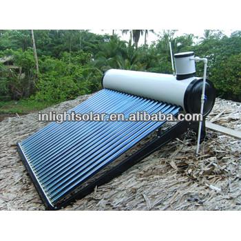 ガラスの真空管の太陽エネルギー温水器