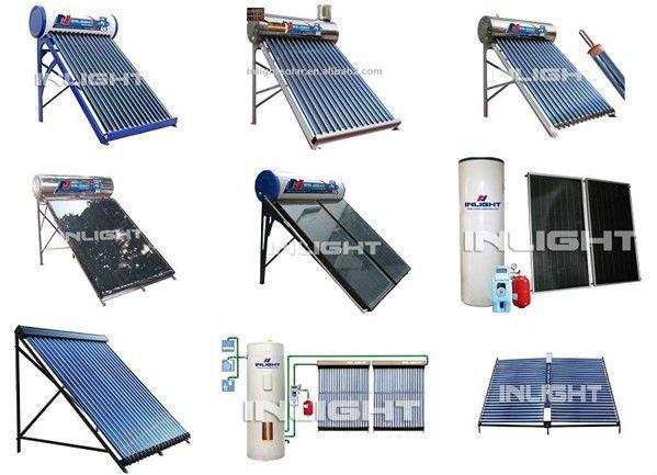 非- 加圧された太陽熱温水器の国内システム