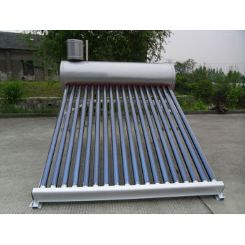 統合的な真空管太陽熱温水器低圧で