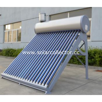 カラースチールタンク統合太陽熱温水ヒーター