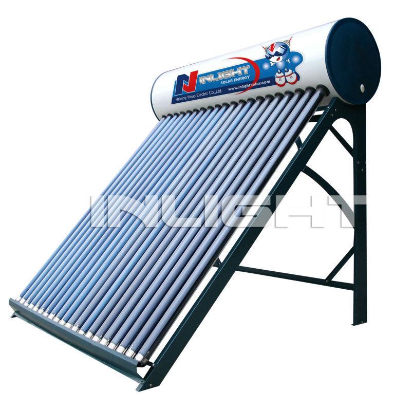 低圧インテグラルカラー鋼板と太陽熱温水器タンク