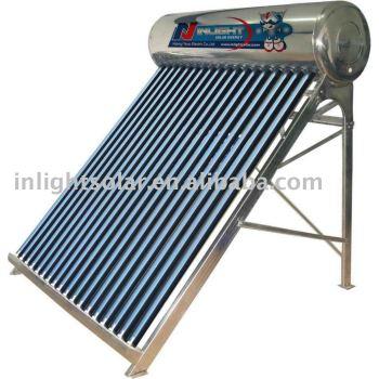 非圧力バッチ太陽熱湯ヒーター