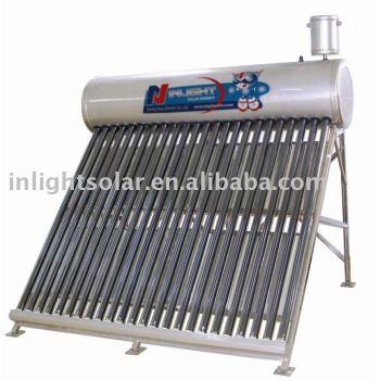 加圧されていない国内の太陽熱温水ヒーター