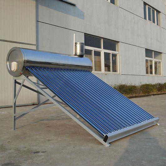 Non-pressurizedステンレス鋼の太陽間欠泉