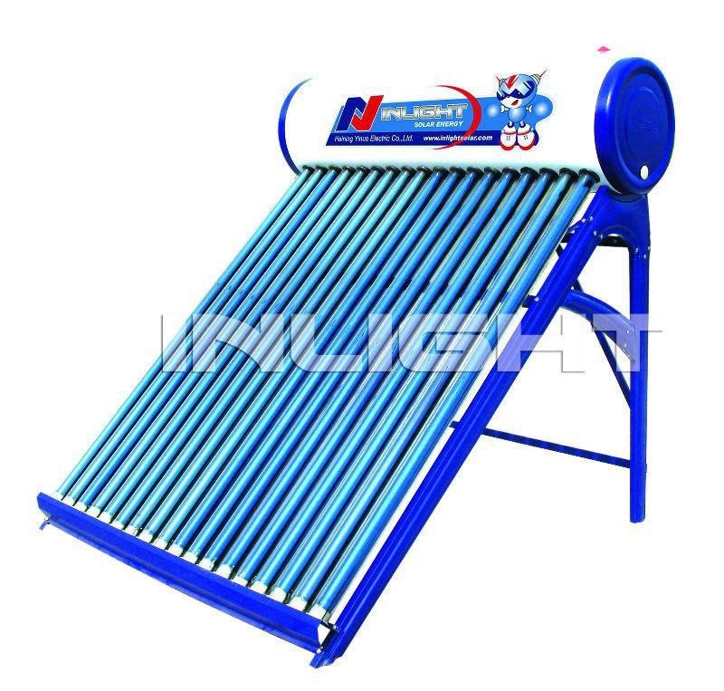 カラー鋼板製低圧太陽熱温水器