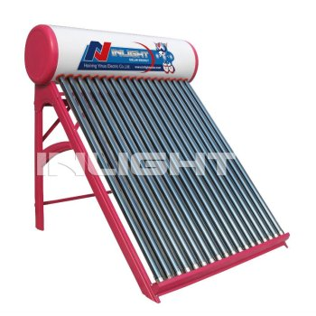 非- 加圧された屋上太陽熱温水器