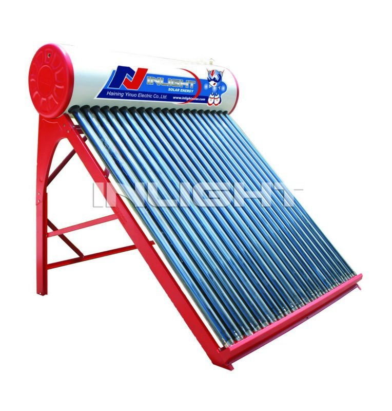 Non-pressurized太陽密集した給湯装置