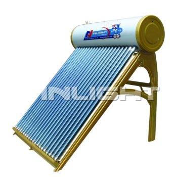 統合された太陽給湯装置
