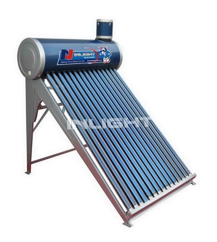 亜鉛メッキ太陽熱給湯器