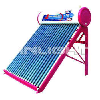 統合された非- 加圧された真空管太陽熱温水暖房