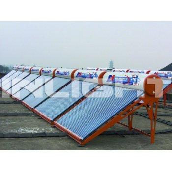 低圧の太陽給湯装置