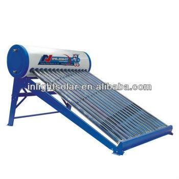 統合されたNon-pressurizedタイル屋根の太陽給湯装置