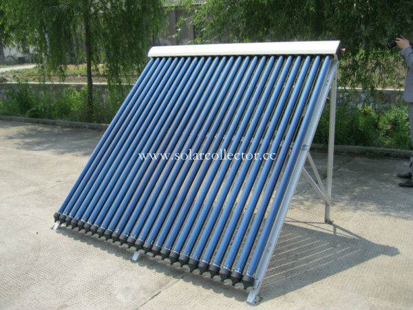 Keymark certified evacuated tube solar pool collector