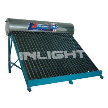 統合された低加圧された太陽給湯装置
