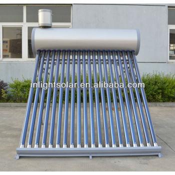200l真空管太陽エネルギー温水器をアシスタントタンク