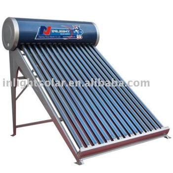 INLIGHTの真空管の太陽給湯装置