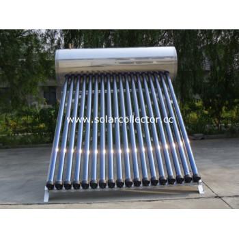 色スチールパイプ太陽熱温水器