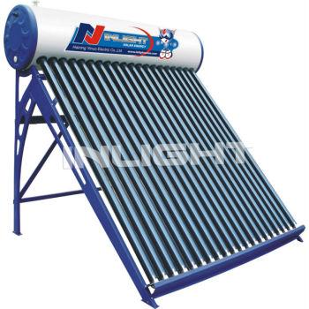 統合された真空管太陽熱温水加熱加圧されていない