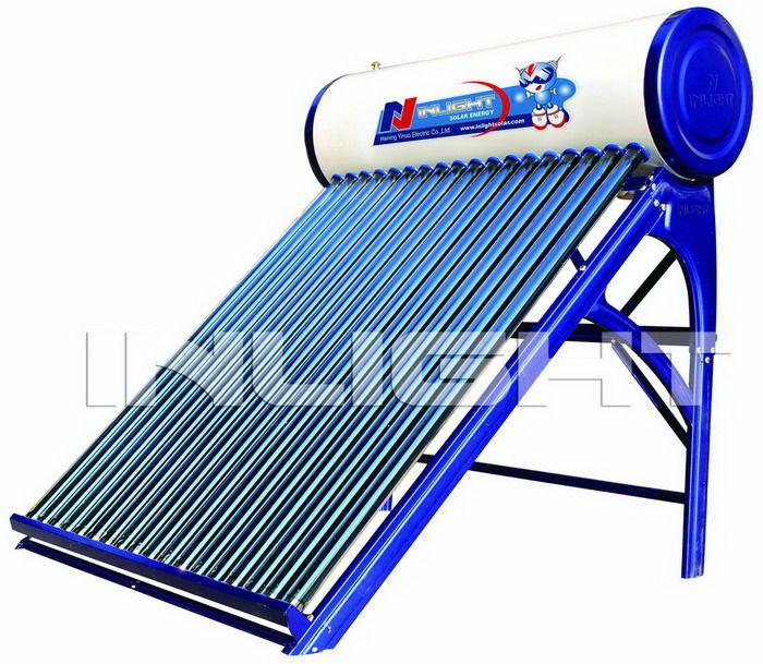 カラー鋼板オープンループ太陽熱温水器