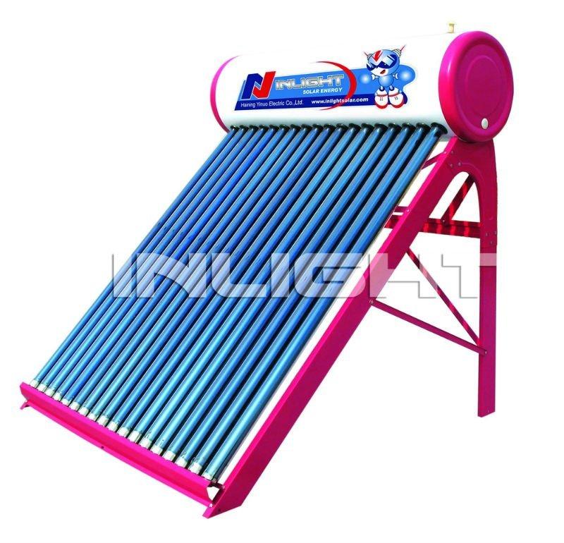 夏太陽熱温水器
