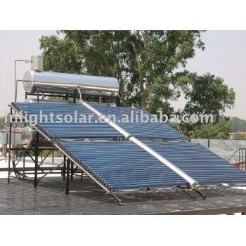 非- 加圧された太陽熱温水器バタフライ型