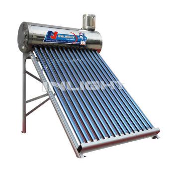 低圧太陽熱温水ヒーター( ステンレス鋼タンク)